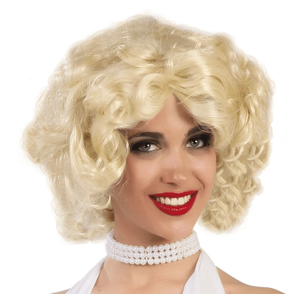 Peruca Loira Marilyn Monroe