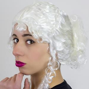 Peruca Velha Branca