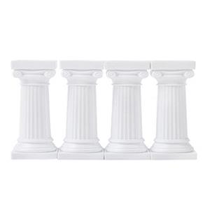 Pilares Gregos Pequenos para Bolo, 4 unid.