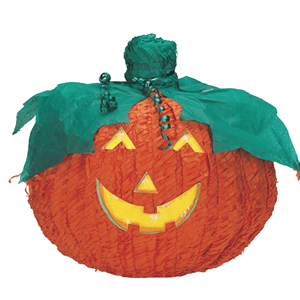 Pinhata Abóbora Halloween Sorridente
