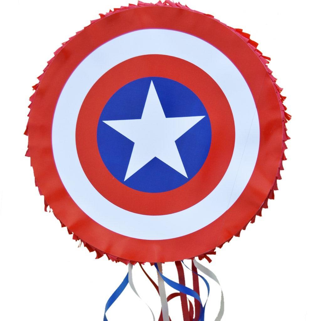 Pinhata Escudo Capitão America