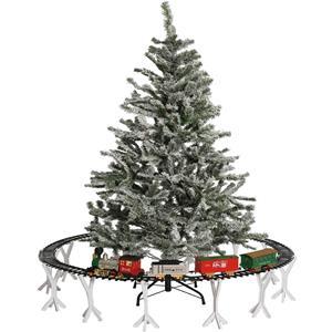 Pista e Comboio de Natal com Luz e Som
