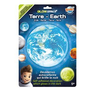 Planeta Terra Glow Adesivo