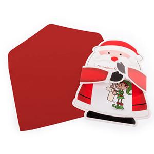 Postal Natal com Envelope, 15 Cm