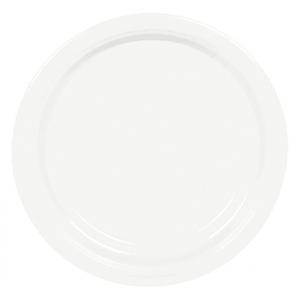 Prato Branco 22cm, 8 un