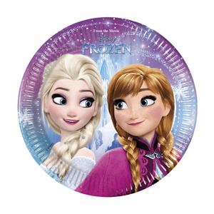 Pratos Frozen, 8 Unid.
