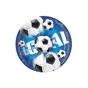 Pratos Futebol, 10 Unid.
