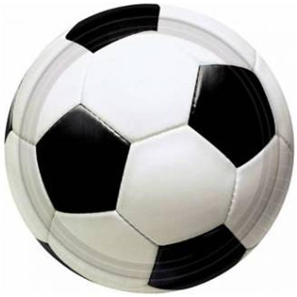 Pratos Futebol Grande, 8 unid