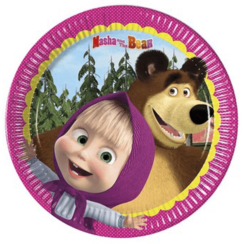 Pratos Masha e o Urso