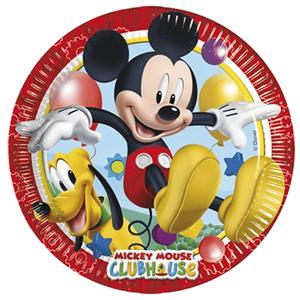 Pratos Mickey, 23 cm