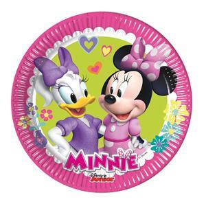 Pratos Minnie, 8 unid.