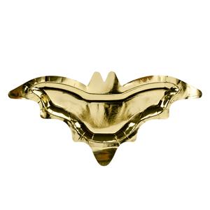 Pratos Morcego Dourado, 6 unid.