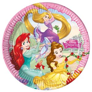 Pratos Princesas, 8 unid.