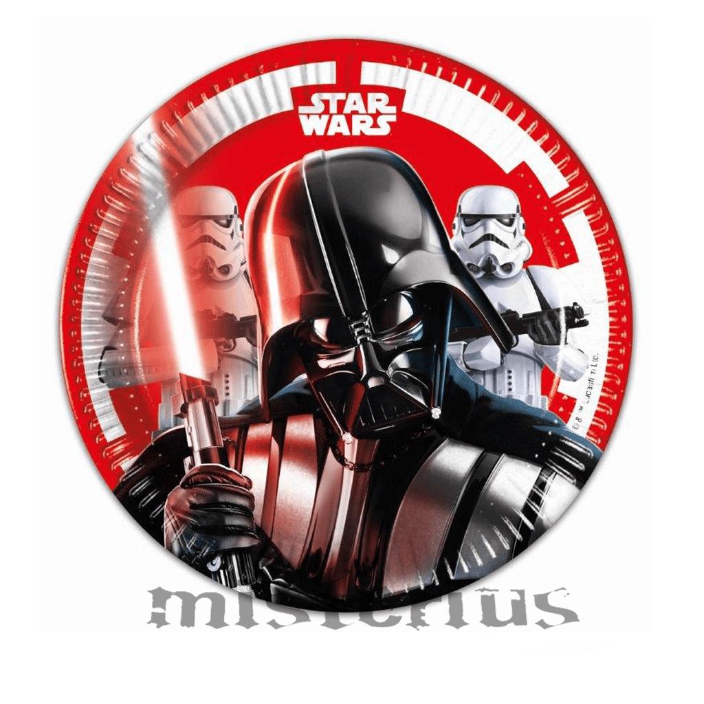 Pratos Star Wars, 8 unid