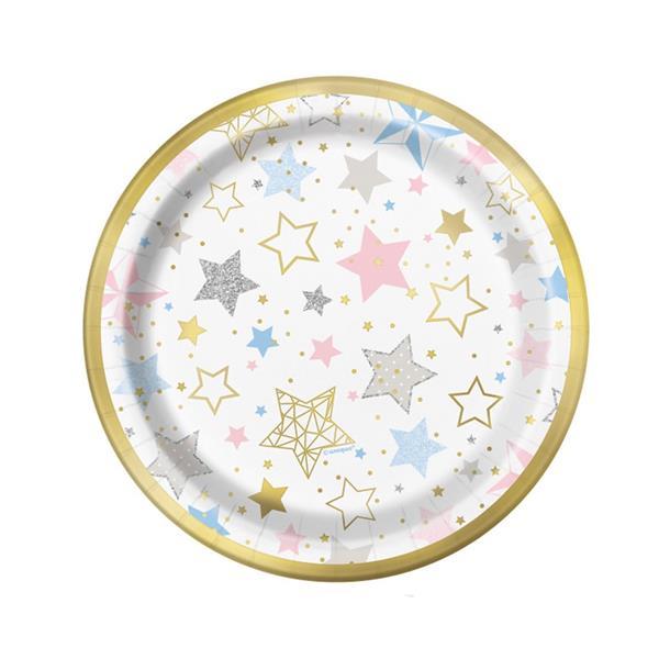 Pratos Twinkle Little Star, 8 un