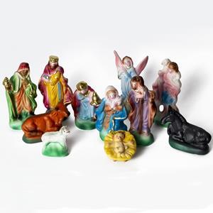 Presépio Tradicional de Natal com 11 Figuras
