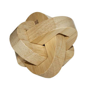 Puzzle 3D Madeira Anéis Entrelaçados