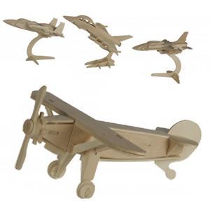 Puzzle 3D Madeira Avião