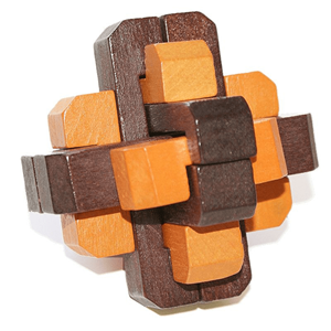 Puzzle 3D Madeira Bicolor