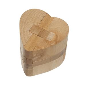 Puzzle 3D Madeira Coração