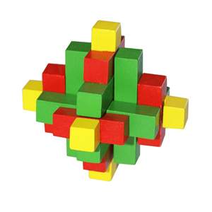 Puzzle 3D Madeira Tricolor