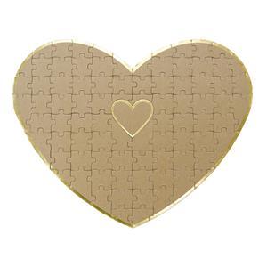 Puzzle Coração para Dedicatórias