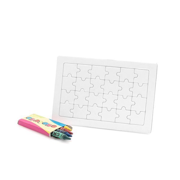 Puzzle para pintar