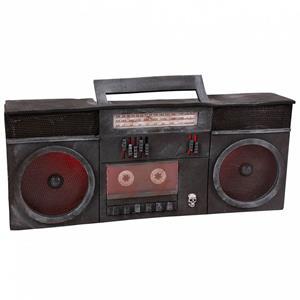 Rádio de Cassetes com Luz e Som