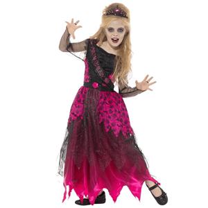 Fato Rainha Gótica do Baile, Criança