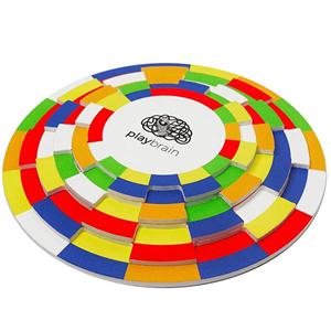 Rológio de Cores - Cubo de Rubik 2D