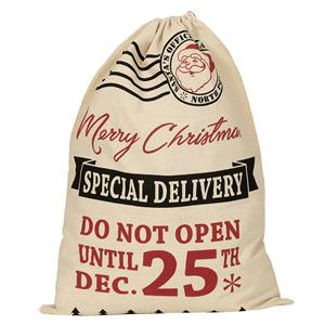 Saco dos Correios Merry Christmas, 52 Cm