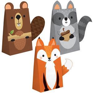 Sacos Animais do Bosque, 8 unid.