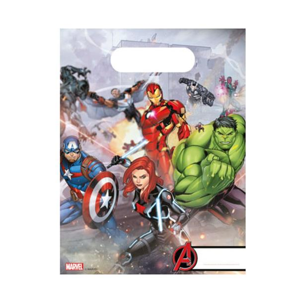 Sacos Avengers, 6 Unid.