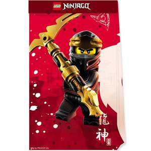 Sacos Lego Ninjago, 4 unid.