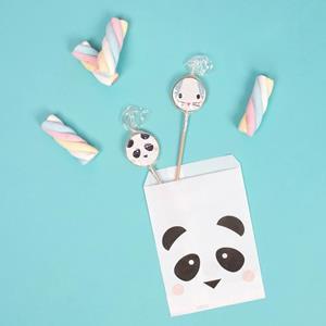 Sacos Panda Amoroso, 10 unid.