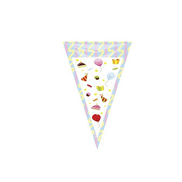 Saco Plástico Triangular Desenhos