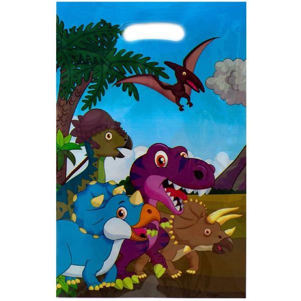Sacos Reino dos Dinossauros, 10 unid.