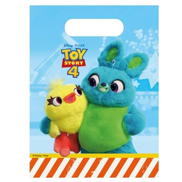 Sacos Toy Story 4, 6 unid.