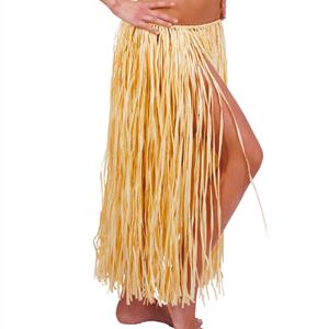 Saia Havaiana Rafia Natural, 75 cm