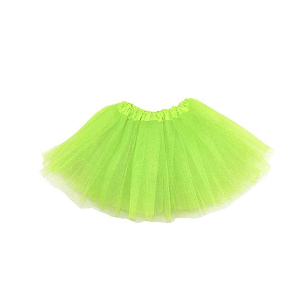 Saia Tutu Verde Fluorescente, 35 Cm
