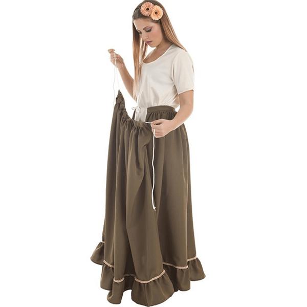 Saia Verde Medieval, Adulto