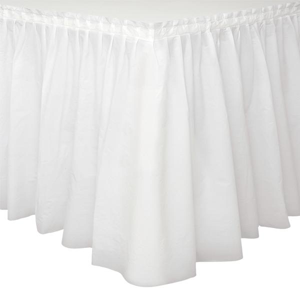 Saiote Mesa Branco 73 x 426 cm