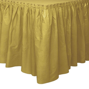 Saiote Mesa Dourado, 73 x 426 cm