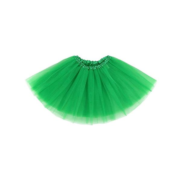 Saiote Tutu Verde Criança, 25 cm