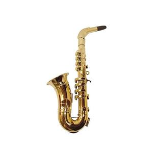 Saxofone Dourado, 40Cm
