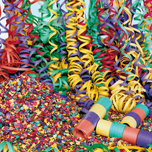 Serpentinas Carnaval