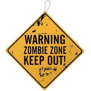 Sinal de Alerta Zombies, 30 cm