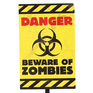 Sinal de Perigo Zombies, 38 Cm