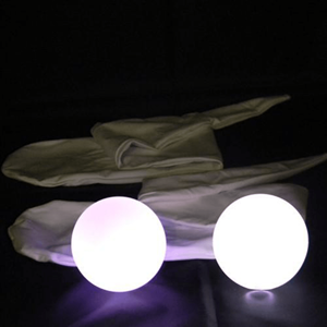 Sock Poi Luminoso Led Cores Rotativas, 2 un.