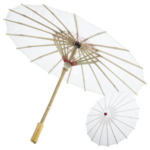 Sombrinha Chinesa Plástico, 40cm